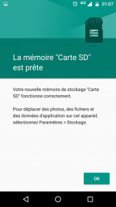 augmenter memoire interne android