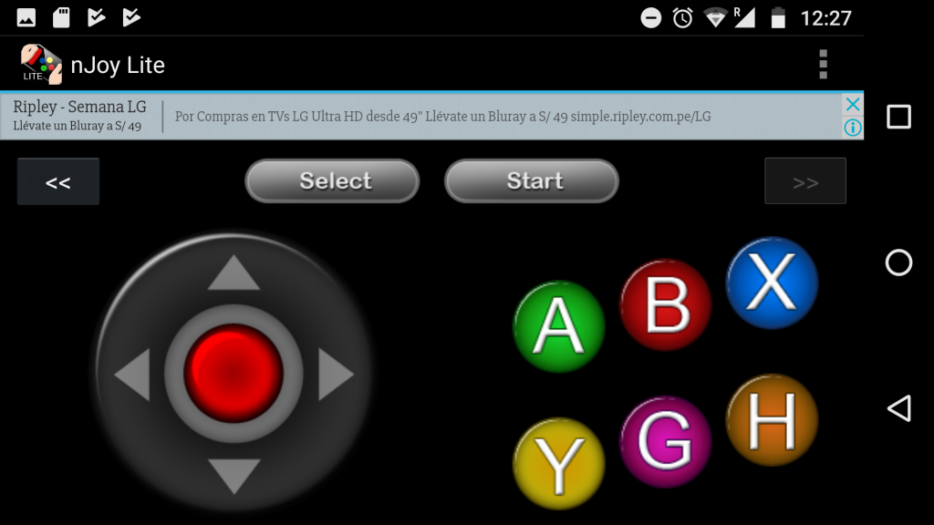 smartphone gamepad android