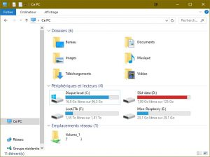 partage fichier raspberry windows