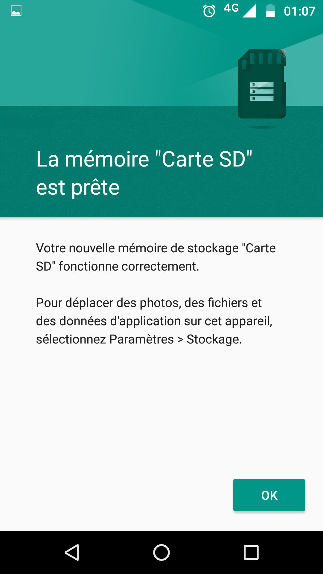 fusionner carte sd et memoire interne Android   fusion de la mémoire interne et de la carte SD