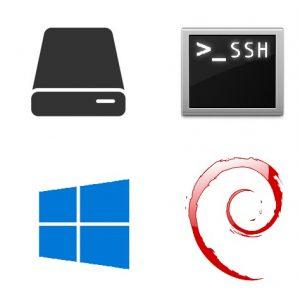 Monter les disques de son Raspberry Pi grâce à SSHFs